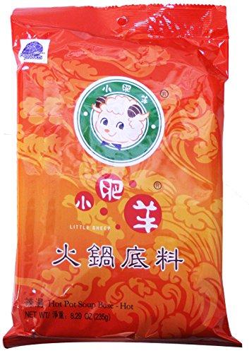 Mongolian Hot Pot Soup Base - (Hot / Spicy (8.29 (Hot Pot Sauces)