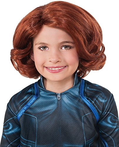 Avengers 2 Age of Ultron Child's Black Widow Wig ()