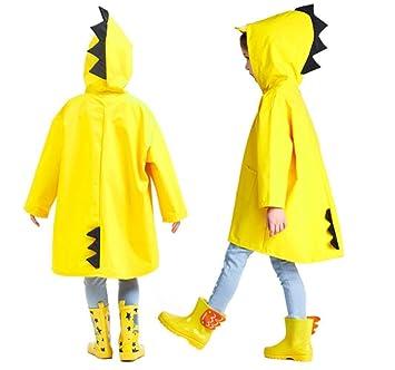 Niños abrigo impermeable con capucha Mignon dinosaurio Unisex Cape & Poncho & Chauve ratón ropa de