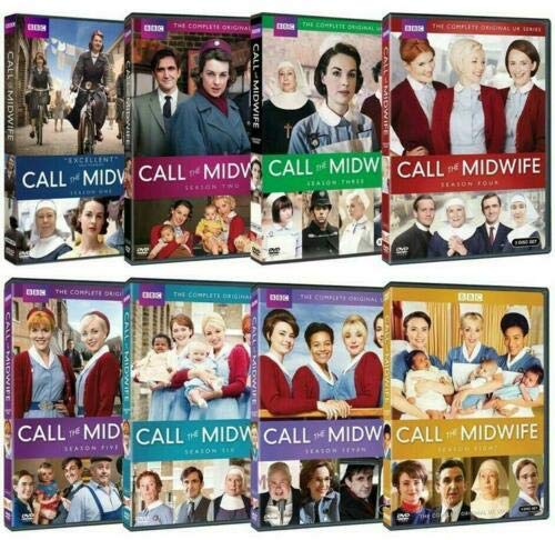 Call the Midwife: Complete Series Seasons 1-8 DVD Set