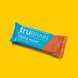 product image for TruBrain Nootropic Bars - Focus, Energy, Clarity. Fast Absorbing Nootropics Bars | Brain Boosters | Improve Memory | Stop Procrastination