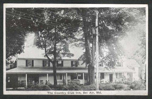 Country Club Inn Bel Air MD postcard 1920s