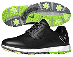 Callaway Men's La Jolla Golf Shoe, Black, 12 2e Us