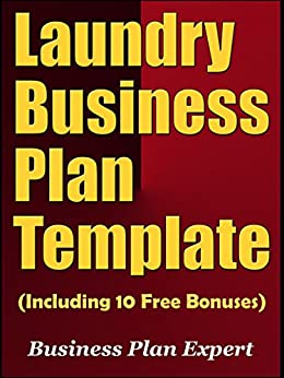 amazoncom laundry business plan template including 10
