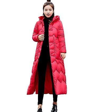 Oudan Abrigo de Mujer Chaqueta de Abrigo Chaqueta de Abrigo Parka Chaqueta Casual de Piel Casual