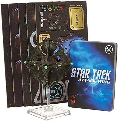 Wizkids Star Trek Attack Wing Expansion Borg Queen Vessel Prime Board Game WIZKIDS//NECA WZK71528