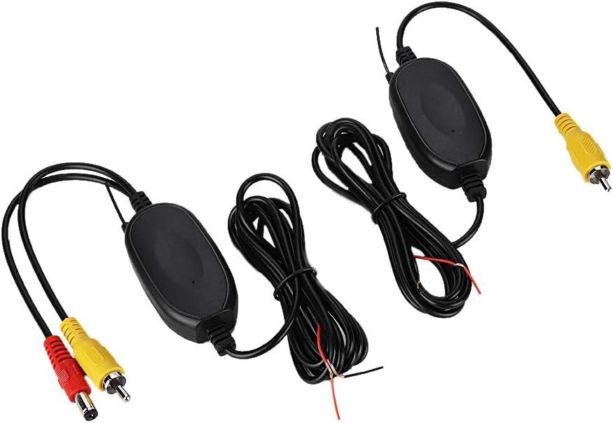 2.4G Kit de Receptor de transmisor inalámbrico para el Reverso del Coche Monitor de cámara Accesorios de Seguridad del Coche