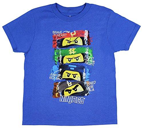 LEGO Boys' Ninjago Trained to Be A Ninja T-Shirt (Small, 6)