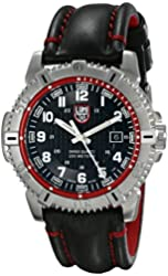 Luminox Men's 6265 Mariner Analog Display Analog Quartz Black Watch