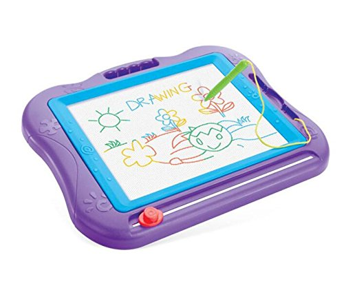 Kids Drawing Board, VONOTO Magnetic Colorful Screen Erasable Baby Kids Skill Intellectual Development Drawing Board Sketch Pad Writing Craft Art Children Toy (Kids Development Toys compare prices)