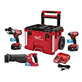 Milwaukee 2796-22PO M18 FUEL with ONE-KEY 18-Volt Lithium-Ion Brushless Cordless Combo Kit (3-Piece)