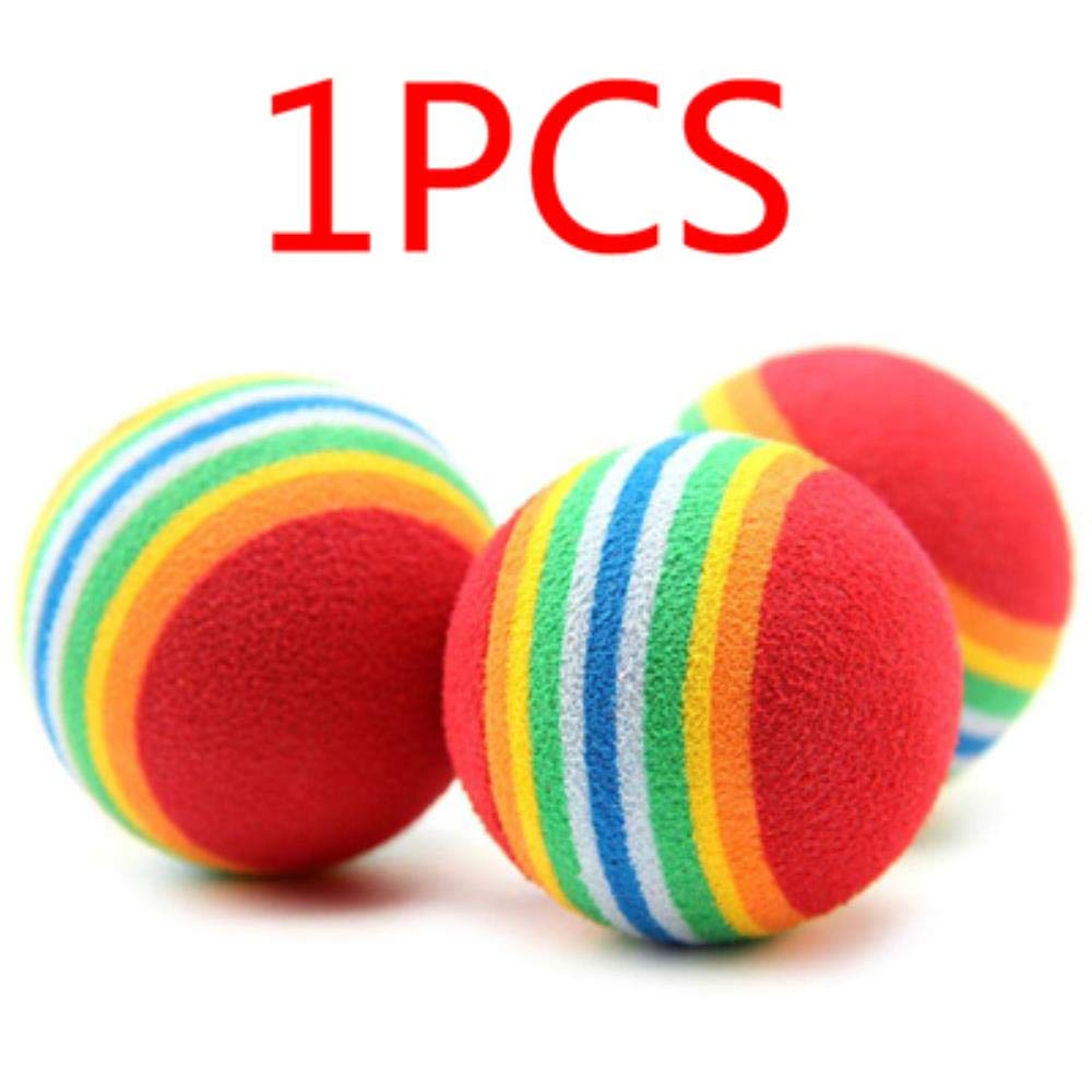 1pcs random color LIKEZZ Cute Mini Small Dog Toys For Pets Dogs Chew Ball Puppy Dog Ball For Pet Toy Puppies Tennis Ball Dog Toy Ball Pet Products,20pcs random color,Mini