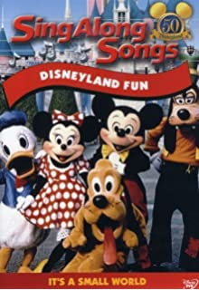 sing along songs disneyland fun