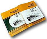 Two John Deere 24T Baler Owner Operators And Parts Catalog Manuals Adjustments