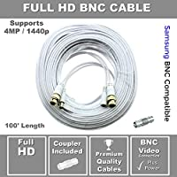 Premium 100 HD BNC Cable for Samsung SDH-C85100, SDC-89440BC, STS-FHDC100-1440