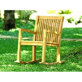 Atlanta Teak Furniture   Teak Rocking Chair   Grade A