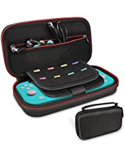 Case for Nintendo Switch Lite- Younik Upgrade Version Hard Travel Carrying Case with Larger Storage Space for 16 Game Cartridges and Other Nintendo Switch Accessories