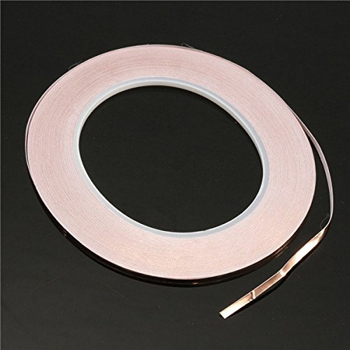 3mmx30m Copper Foil Tape Adhesive Copper Tape genenric