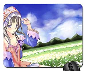 ?ANIME GIRL MOUSE PAD, MOUSEPAD 9 inch X 7 inch