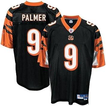 NFL Football Camiseta/Jersey Cincinnati Bengals Carson Palmer # 9 Black Small (S): Amazon.es: Deportes y aire libre