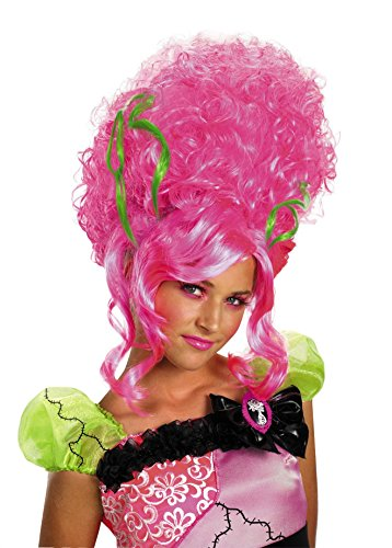 Monster Bride Wig, Pink, One Size -