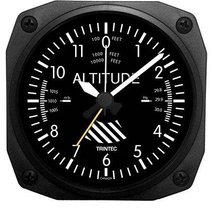 Trintec Aviation Altitude Altimeter Alarm Clock - DM60