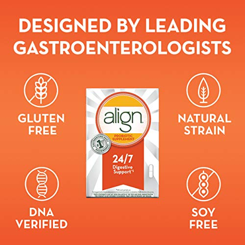 Align Probiotics Supplement for Digestive Health in Adult Men and Women, 63 Probiotic Capsules - Bifidobacterium 35624 - #1 Doctor Recommended Probiotics Brand by Align (Image #5)