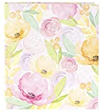 bloom daily planners 3-Ring Fashion Binder (10' x 11.5') - 1 Inch Ring - Watercolor Floral