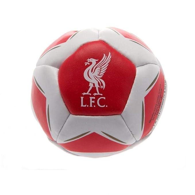 Liverpool FC - Pelota blanda modelo Star Kick N Trick (Talla Única ...