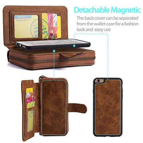 Removable Leather Zippered Magnetized Protective