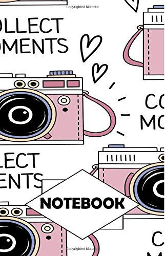 """Notebook: Dot-Grid,Graph,Lined,Blank Paper : Camera : Small Pocket diary 110 pages, 5.5"""" x 8.5"""" PDF"""