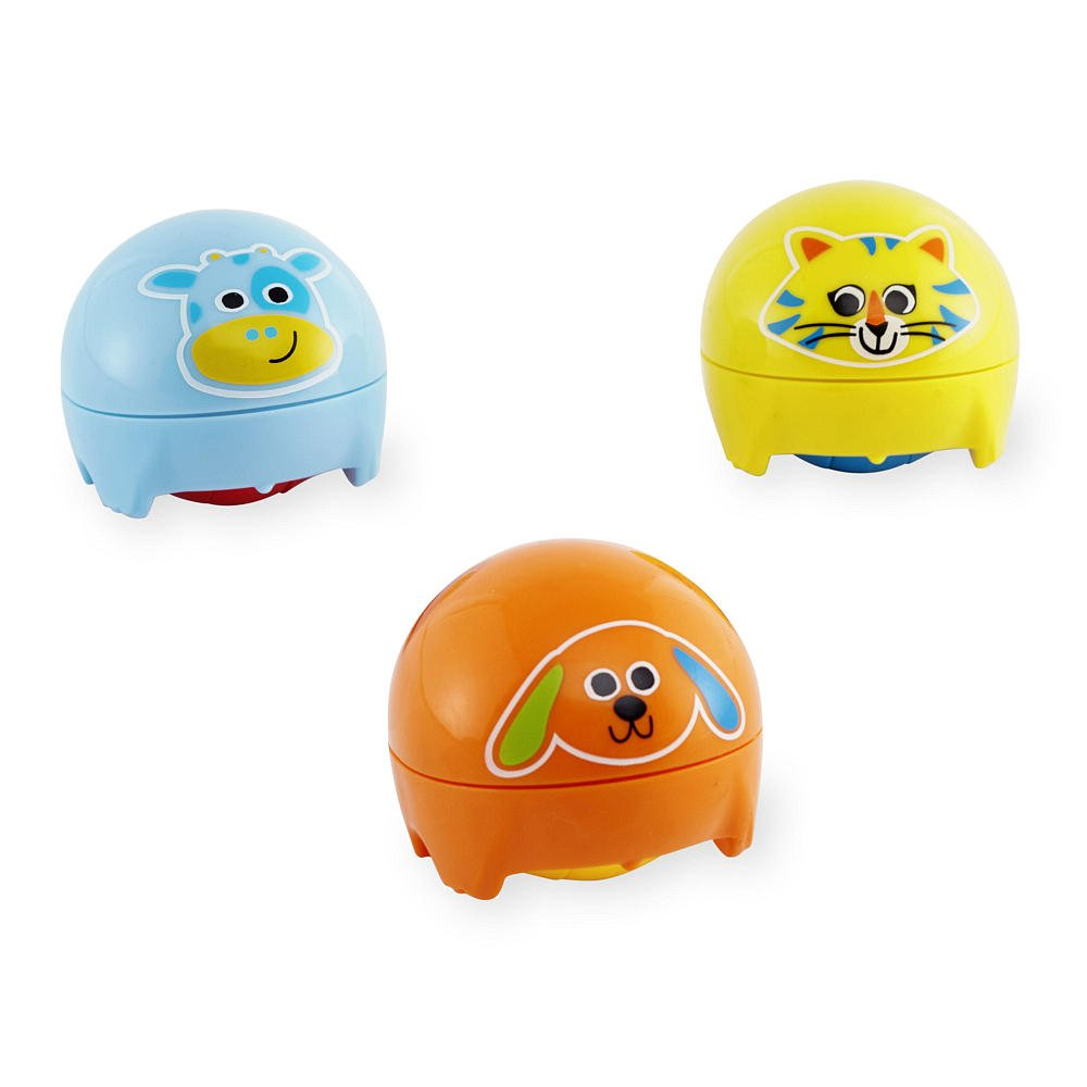 Bruin Infant 3 Pack Wacky Waddlers Friends NEW