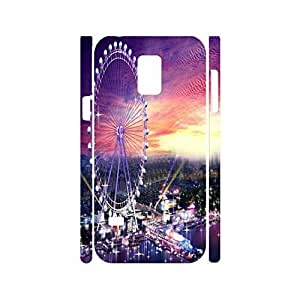 Elegant Travel Collection Sky Wheel Pattern Hard Plastic Phone Cover for Samsung Galaxy S5 Mini SM-G800 Case
