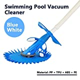 Murtisol Advanced Suction Side Automatic Pool Cleaner VacuumCleanerSetCleaning Equipment Climb Wall Cleaning In Ground/Above Ground BLUE