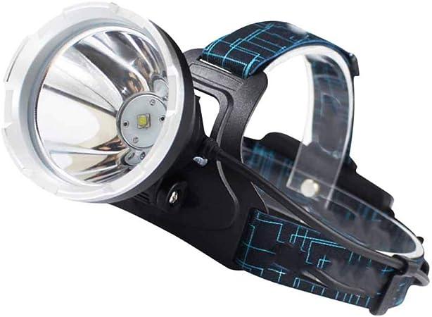 SDlamp Linterna Frontal LED Recargable USB Impermeable Súper ...