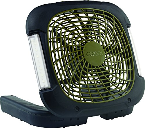 Portable Fan With Led Light in US - 8