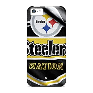 Bumper Cell-phone Hard Covers For Iphone 5c With Support Your Personal Customized High Resolution Pittsburgh Steelers Pictures Marycase88