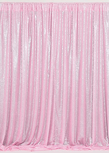 B-COOL sheer curtain backdrop - 7ftx7ft Pink Wedding Backdrop Curtain Backdrop,baby shower decorations backdrop,photography background backdrop