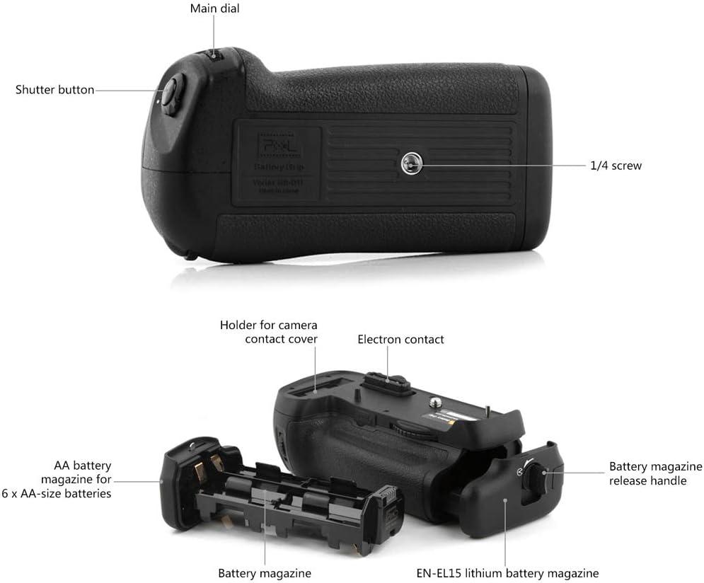 Market/&YCY Pixel Vertax D14 Professional Power Grip for Nikon MB-D14 D610 DSLR Cameras for Nikon D600