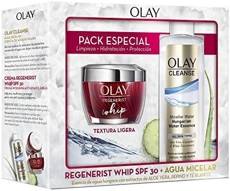 Olay Pack Regenerist Whip Crema Hidratante Día Textura Ligera SPF ...