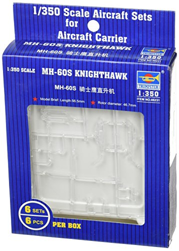 Trumpeter 1/350 USN MH60S Knighthawk Helicopter Set for sale  Delivered anywhere in USA