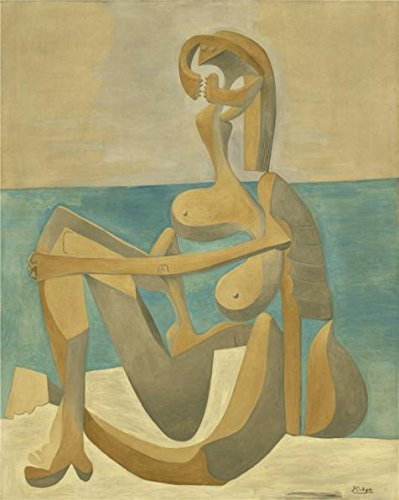 Palm Reader Halloween Costume - The High Quality Polyster Canvas Of Oil Painting 'Pablo Picasso-Seated Bather,1930' ,size: 30x38 Inch / 76x96 Cm ,this Cheap But High Quality Art Decorative Art Decorative Prints On Canvas Is Fit For Home Office Artwork And Home Gallery Art And Gifts