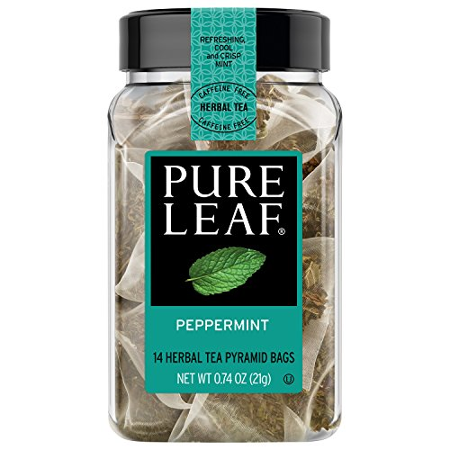 - Pure Leaf Hot Herbal Tea Bags Peppermint 14 ct, pack of 4