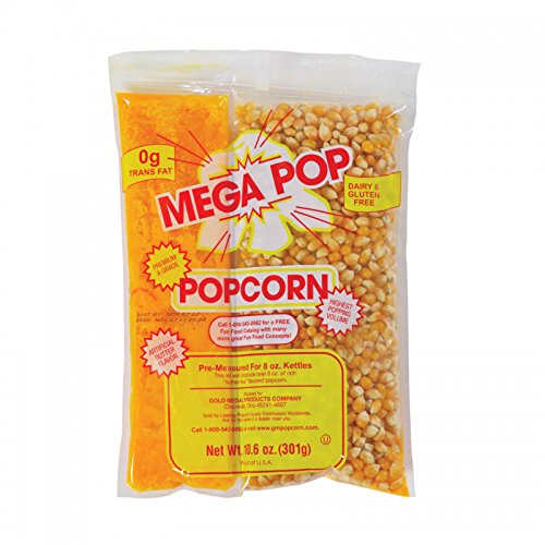 Mega-pop Popcorn Kit - 10.6 Oz. - 24 Ct.