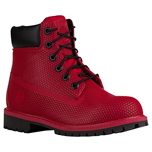 Youth-Kids-Juniors-Timberland-6-6-Inch-Exo-Web-Hiking-Boots-New-Red-14IY