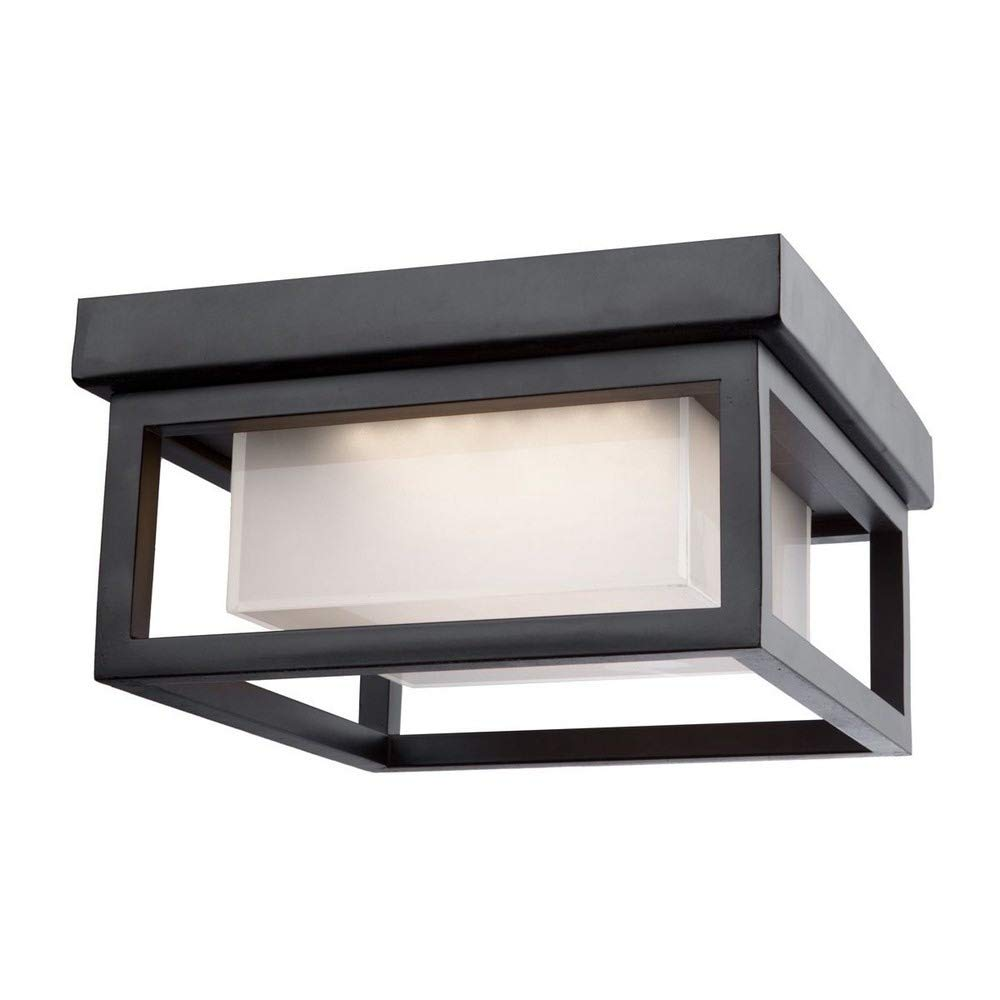 Artcraft Lighting AC9136BK Outdoor Ceiling Light, One Size, Black by Artcraft Lighting