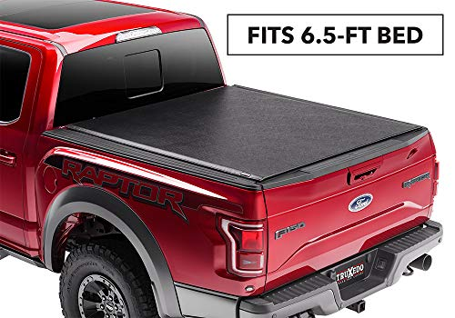 Duty Super Chevy - TruXedo 6.6 579101 Lo Pro Soft Roll-up, Hinged Combination for Ford F-250/F-350/F-450 Super Duty 6.5' Bed