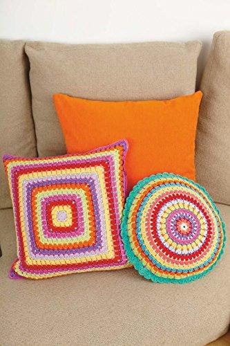 Stylecraft Home cojines Classique Crochet de algodón patrón ...