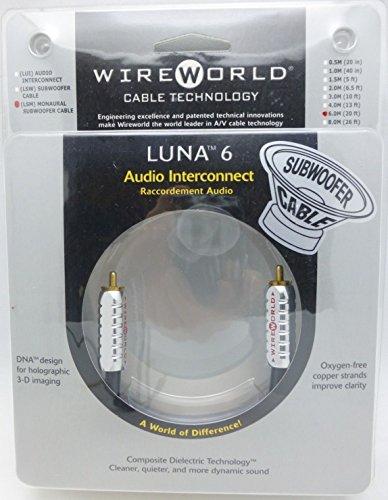 WireWorld Luna 6 Subwoofer Cable 6 meter LSM-6.0M
