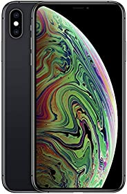 Apple iPhone XS Max (256GB, Space Gray) [Locked] + Carrier Subscription